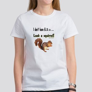 ADD Squirrel Women's T-Shirt