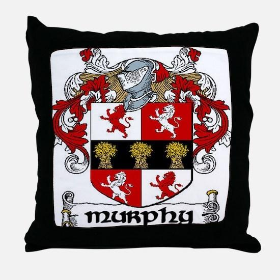 Murphy Coat of Arms Throw Pillow
