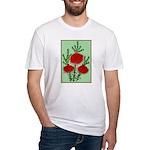 String Bell Vintage Flower Print T-Shirt
