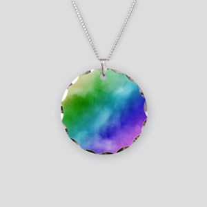 Rainbow Watercolors Necklace