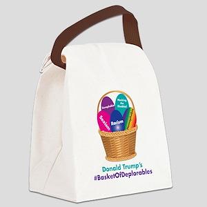 Trump's Basket of Deplorables Canvas Lunch Bag