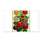 Chinese Lantern Vintage Flower Print Decal Wall St