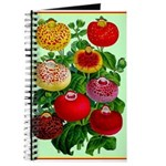 Chinese Lantern Vintage Flower Print Journal