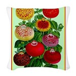 Chinese Lantern Vintage Flower Print Woven Throw P