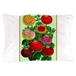 Chinese Lantern Vintage Flower Print Pillow Case