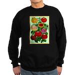 Chinese Lantern Vintage Flower Print Sweatshirt
