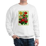 Chinese Lantern Vintage Flower Print Sweater