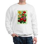 Chinese Lantern Vintage Flower Print Sweater