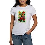 Chinese Lantern Vintage Flower Print T-Shirt