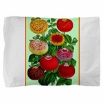 Chinese Lantern Vintage Flower Print Pillow Sham