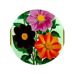 Colorful Flowers Vintage Poster Print 3.5