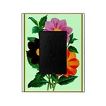 Colorful Flowers Vintage Poster Print Picture Fram