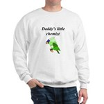 Daddy's little chemist Sweatshirt