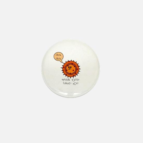 Chicken Pox Mini Button