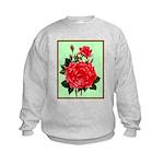 Red, Red Roses Vintage Print Jumpers