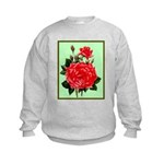 Red, Red Roses Vintage Print Jumpers