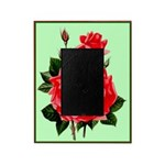 Red, Red Roses Vintage Print Picture Frame
