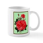 Red, Red Roses Vintage Print Mugs