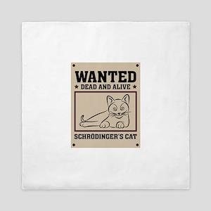 Schrodinger's Cat Queen Duvet