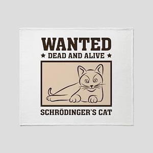 Schrodinger's Cat Stadium Blanket