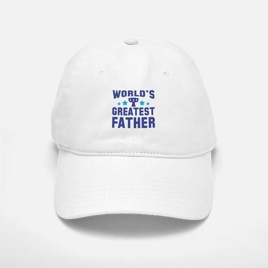 World's Greatest Father Baseball Baseball Cap