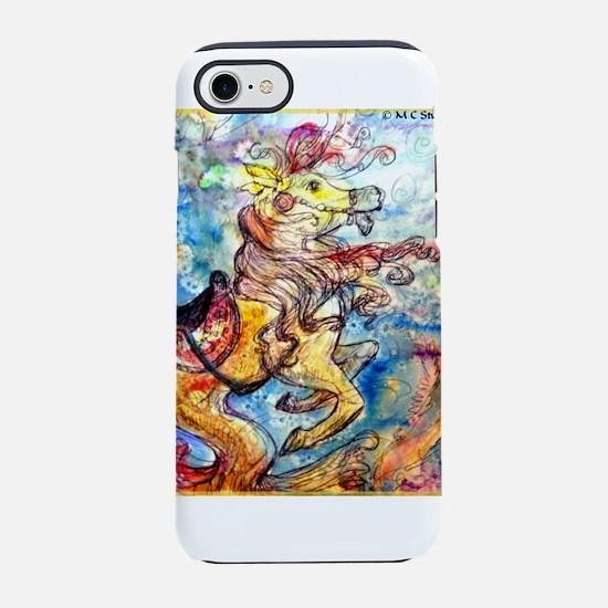Sea Horse! Fantasy art! iPhone 8/7 Tough Case