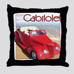 1937 Cabriolet Throw Pillow