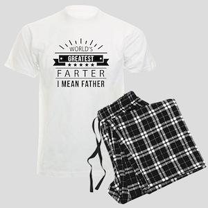 World's Greatest Farter Men's Light Pajamas