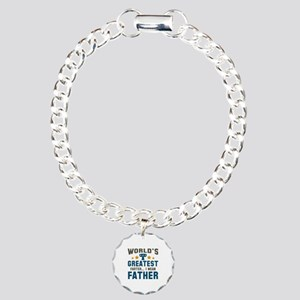 World's Greatest Farter Charm Bracelet, One Charm