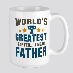 World's Greatest Farter Large Mug