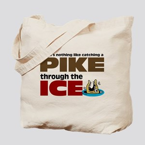 Pike through the Ice Tote Bag