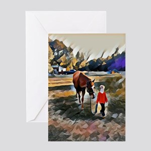 A Horse and Her Boy Greeting Cards