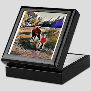 A Horse and Her Boy Keepsake Box