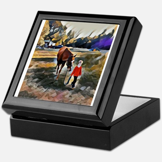 A Horse and Her Boy Keepsake Box
