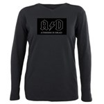 Atheism Is Dead Plus Size Long Sleeve Tee
