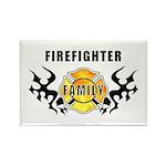 Firefighter Family Rectangle Magnet (10 pack)