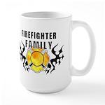 Firefighter Family Large Mug