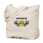 Firefighter Family Tote Bag