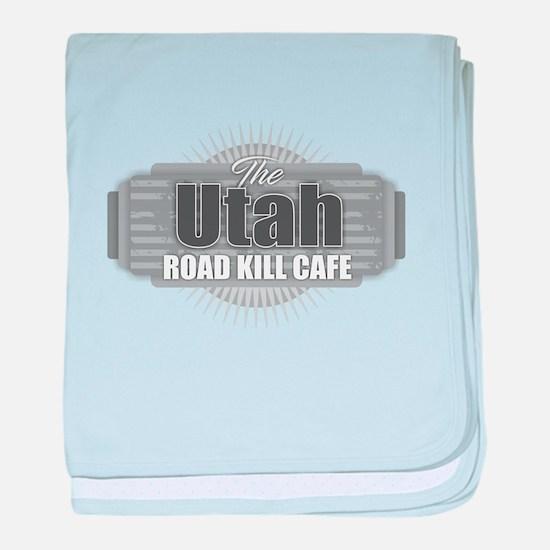 Utah Road Kill Cafe baby blanket