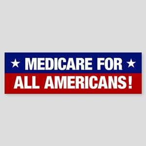Medicare For All Americans (bumper Bumper Sticker