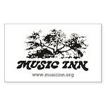 Music Inn Sticker (rectangle)