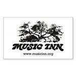 Music Inn Sticker (rectangle 10 Pk)