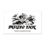 Music Inn Rectangle Car Magnet
