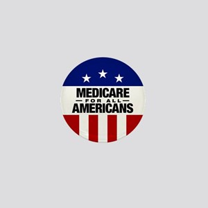 Medicare For All Americans Mini Button