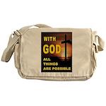 GOD IS GREAT Messenger Bag