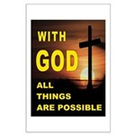GOD IS GREAT Posters