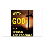 GOD IS GREAT Postcards (Package of 8)