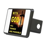 GOD IS GREAT Hitch Cover