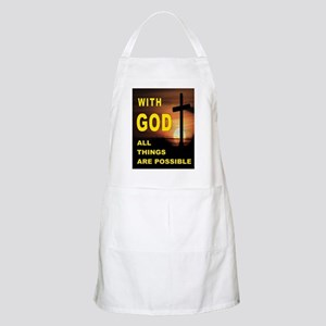 GOD IS GREAT Light Apron