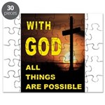 GOD IS GREAT Puzzle